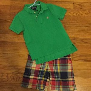 4T POLO summer outfit
